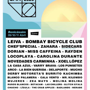 EL SANSAN ANUNCIA A BOMBAY BICYCLE CLUB